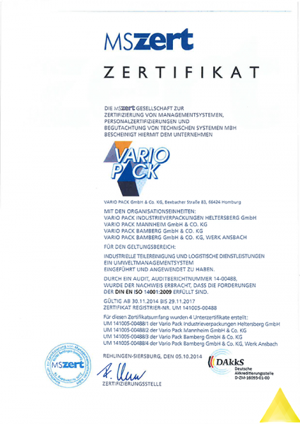 Variopack GmbH & Co. KG - Specialist for packaging, storage ...